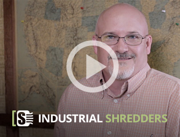 What the Industrial Shredders Promo Video with CEO David Barnard on Youtube